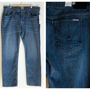 Hudson Byron Straight Medium Wash Jeans